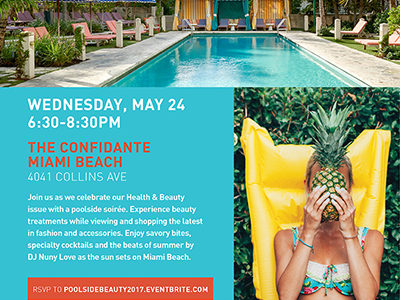 SWIM by GiaSimone at POOLSIDE Beauty – Hosted by MIAMI MAGAZINE